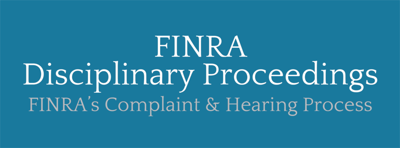 finra-disciplinary-proceedings