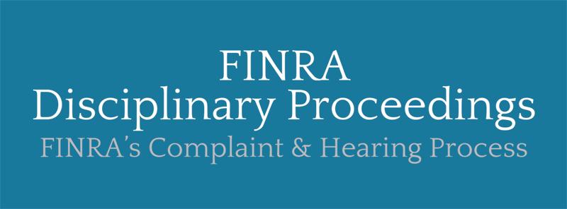 finra-disciplinary-proceedings
